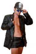 black leather blazer for men