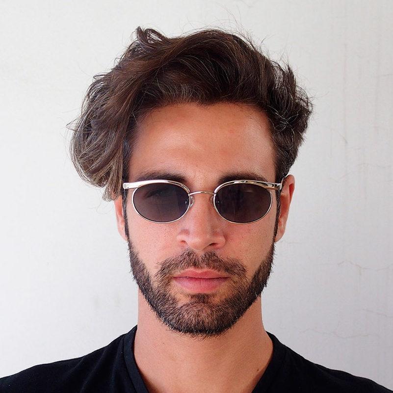 mens oval sunglasses