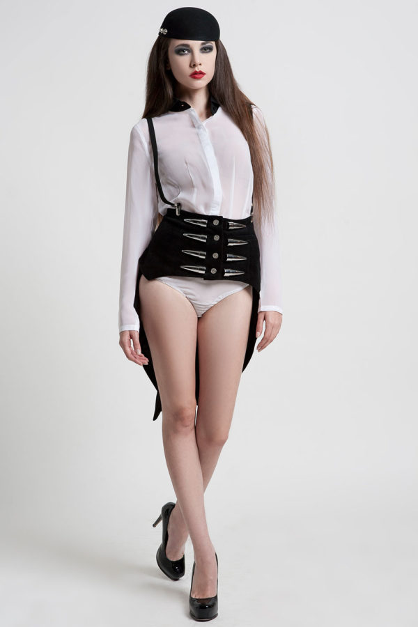 corset with bustle