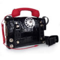 Steampunk retro futuristic bag