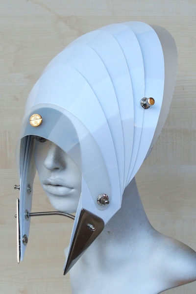 futuristic head wear