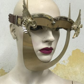 gold mask with wings