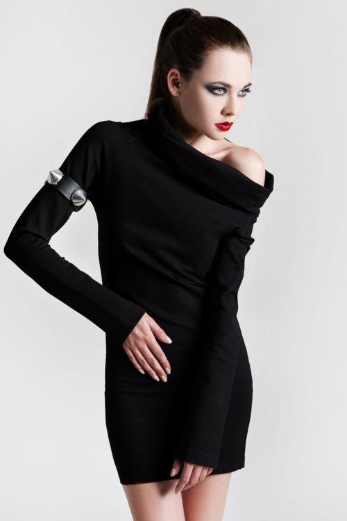short black dress