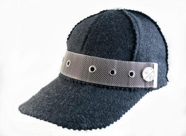 grey wool  baseball cap HI TEK