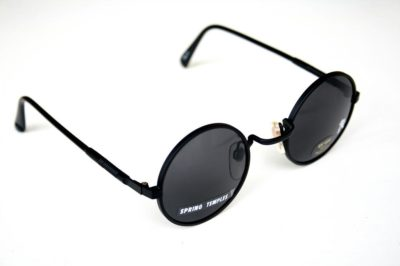 round black metal sunglasses Hi Tek Alexander HJL9