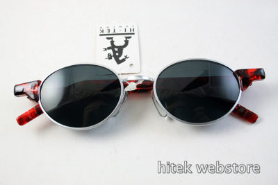 Hi Tek vintage tortoise oval sunglasses Goth Steampunk HT-RET-9105