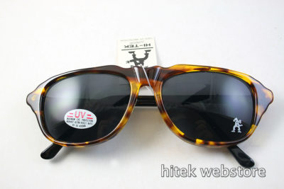 rectangular retro tortoise hipster sunglasses Hi Tek