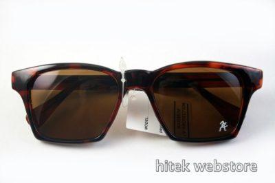 Vintage 1980s tortoise sunglasses HI TEK HT-9296 Wayfarer style