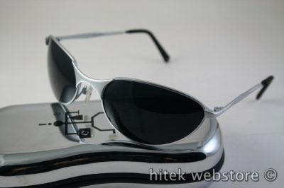 mens sunglasses shades silver metal frame aviator Hi Tek model-2626