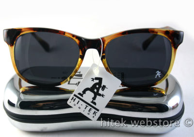 Retro Square tortoise sunglasses 1990s Wayfarer style HT-92112