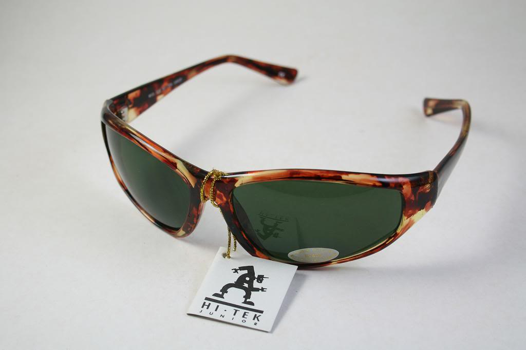 1ab179f4364 goggles sunglasses tortoise green lens Hi Tek · mens retro sunglasses