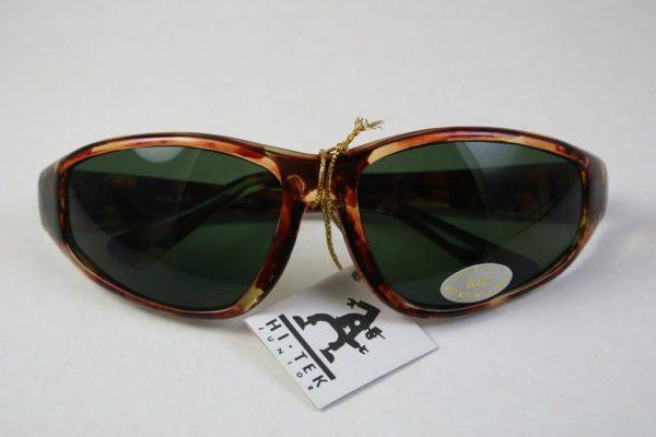 goggles sunglasses tortoise green lens Hi Tek