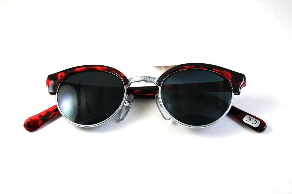 Retro 1930s and 1950s Steampunk women's sunglasses HT-9104