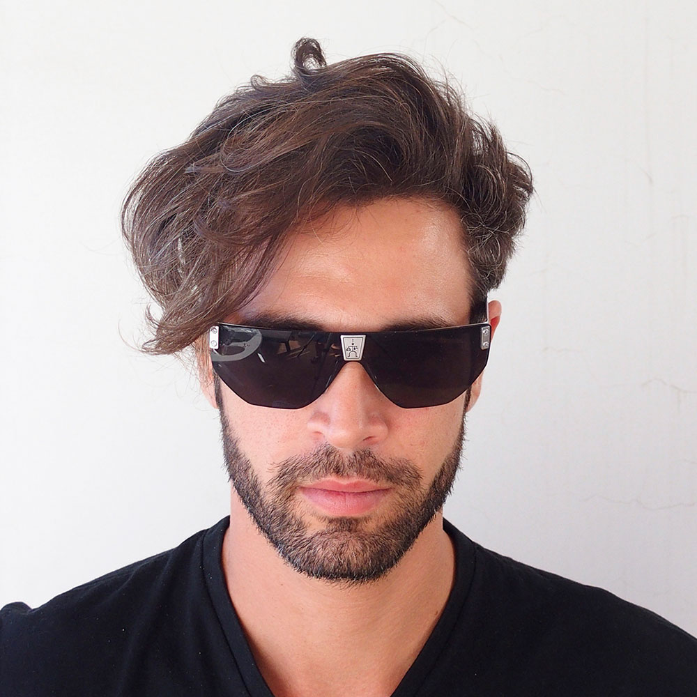 Men Rectangle For Sunglasses Retro Goth Steampunk Square Flat Top Vintage nk8wOP0X