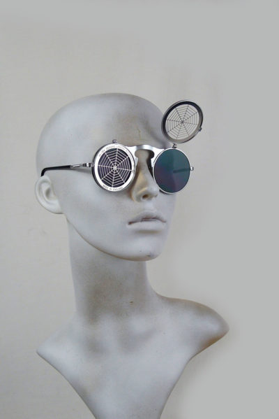 flip up cobweb sunglasses