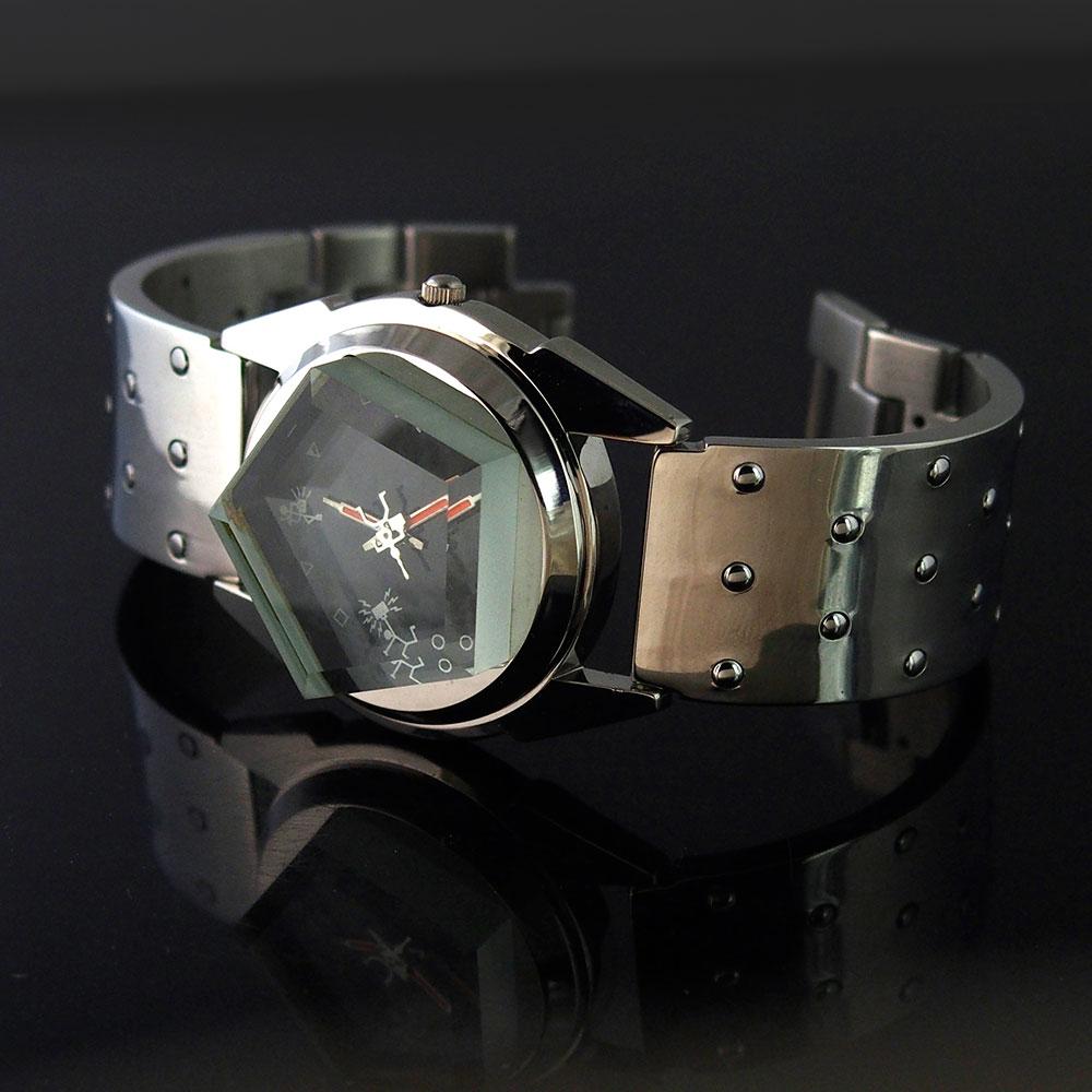 vintage unsex wrist watch Hi Tek London Alexander Cyber Goth style unusual gift