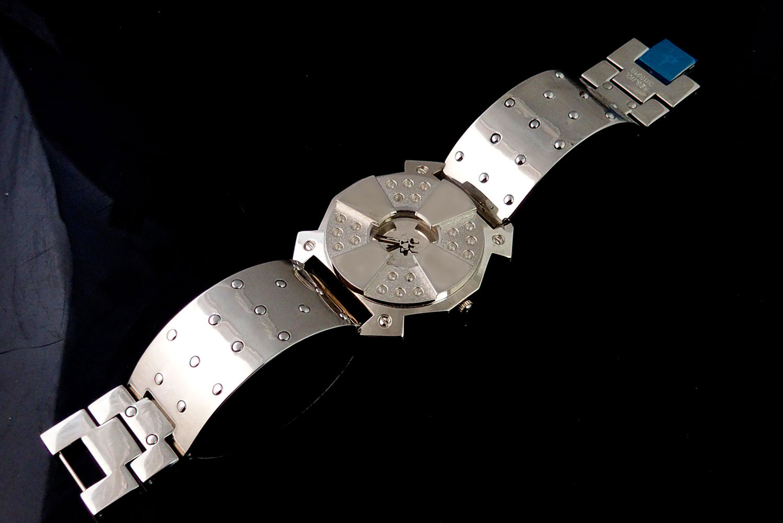 unusual mens watch gift for him Vintage unisex Goth cyberpunk Goth punk London 80s Steampunk watch Hi Tek
