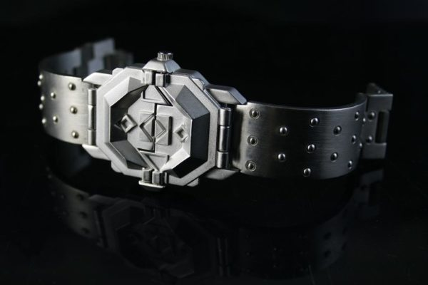 vintage unsex mens watch Hi Tek London Alexander Cyber Goth unusual
