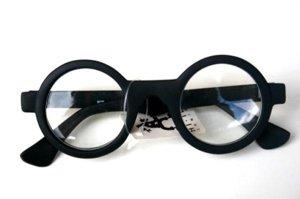sunglasses black sunglasses with clear demonstration lenses HT-005b