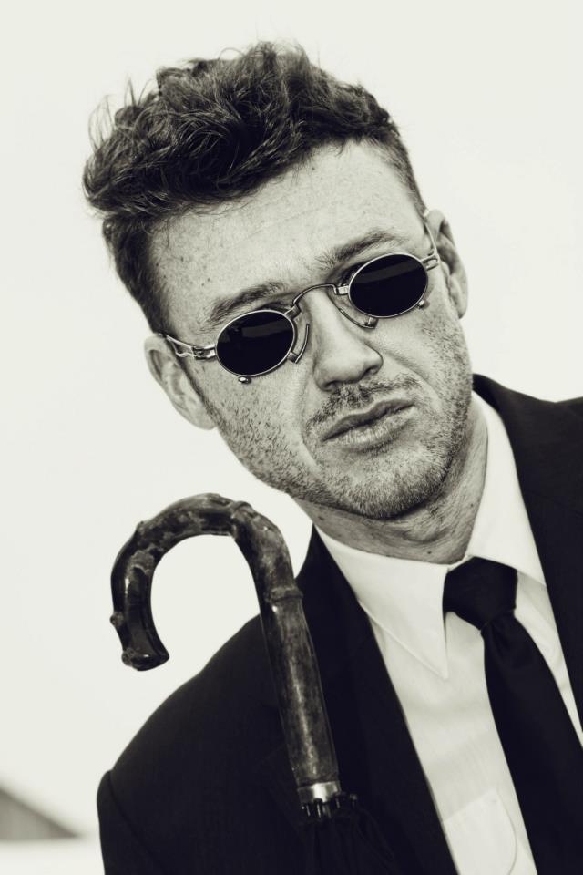 oval Steampunk sunglasses