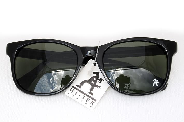 Large sqaure sunglasses plastic frame Wayfarer sunglasses mod92112 Hi Tek Junior