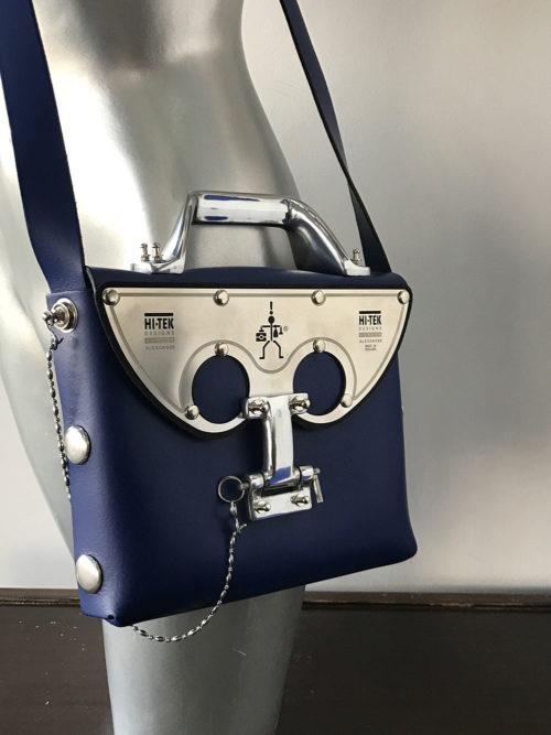 cobalt blue shoulder bag