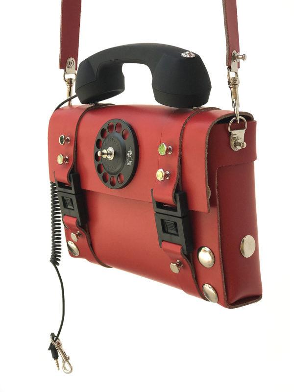 red shoulder bag for men