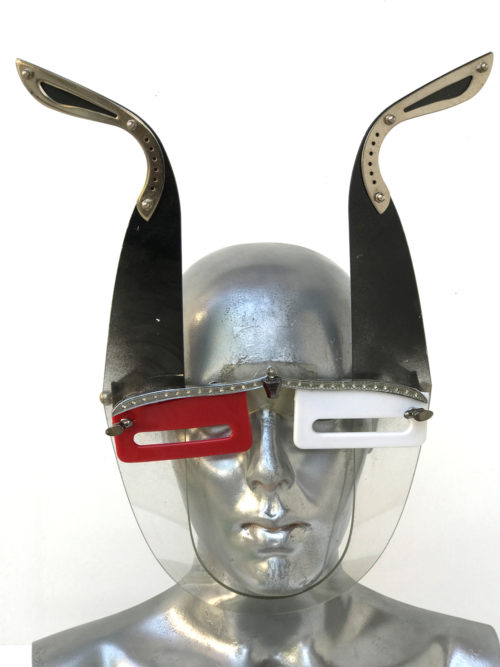 mask with antlers