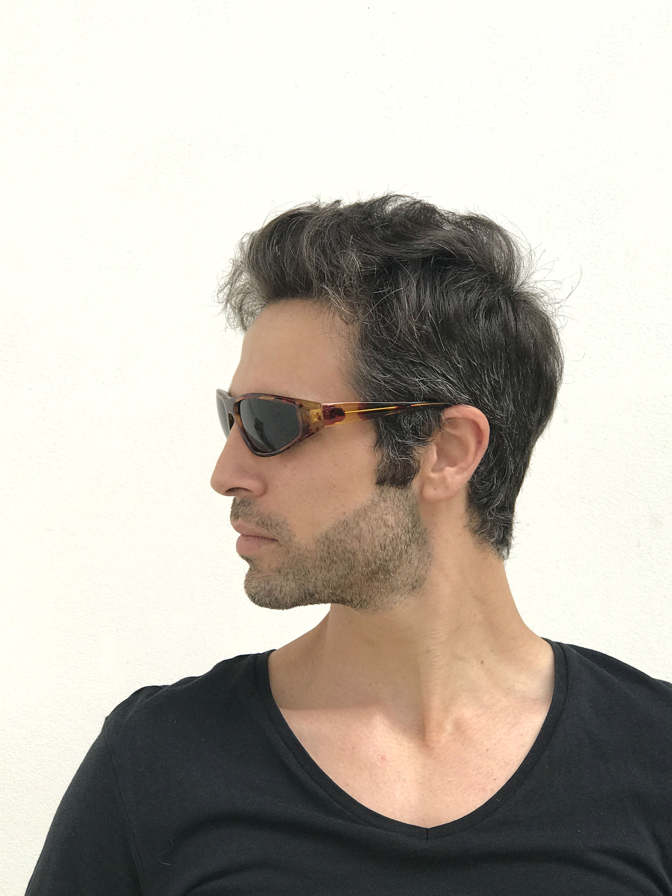 bd97d89cb40 goggles sunglasses tortoise green lens Hi Tek · mens retro sunglasses · goggles  sunglasses ...