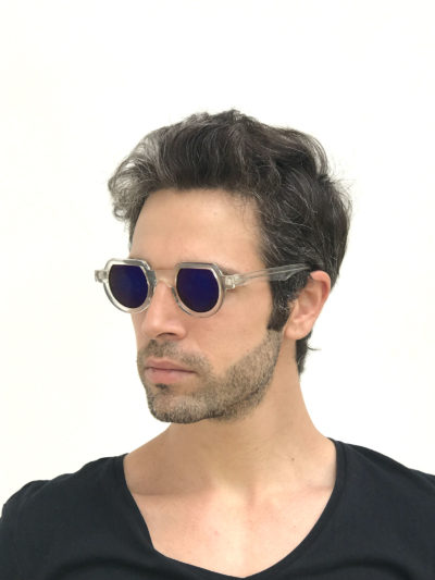 flat top round sunglasses