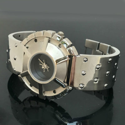 Cyberpunk wrist watch