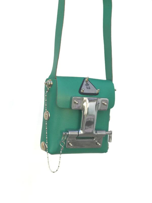 mens green crossbody bag