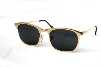square gold metal sunglasses wayfarer Hi Tek  HT-8642