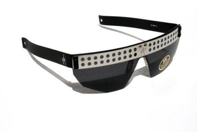 unisex sunglasses square oblong shape unusual design Hi Tek model SGF/600-G