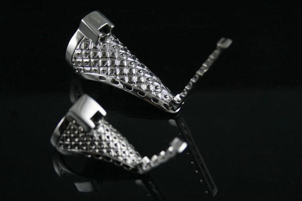 HI TEK knuckle armor pompom ring SSRNGS004 unusual