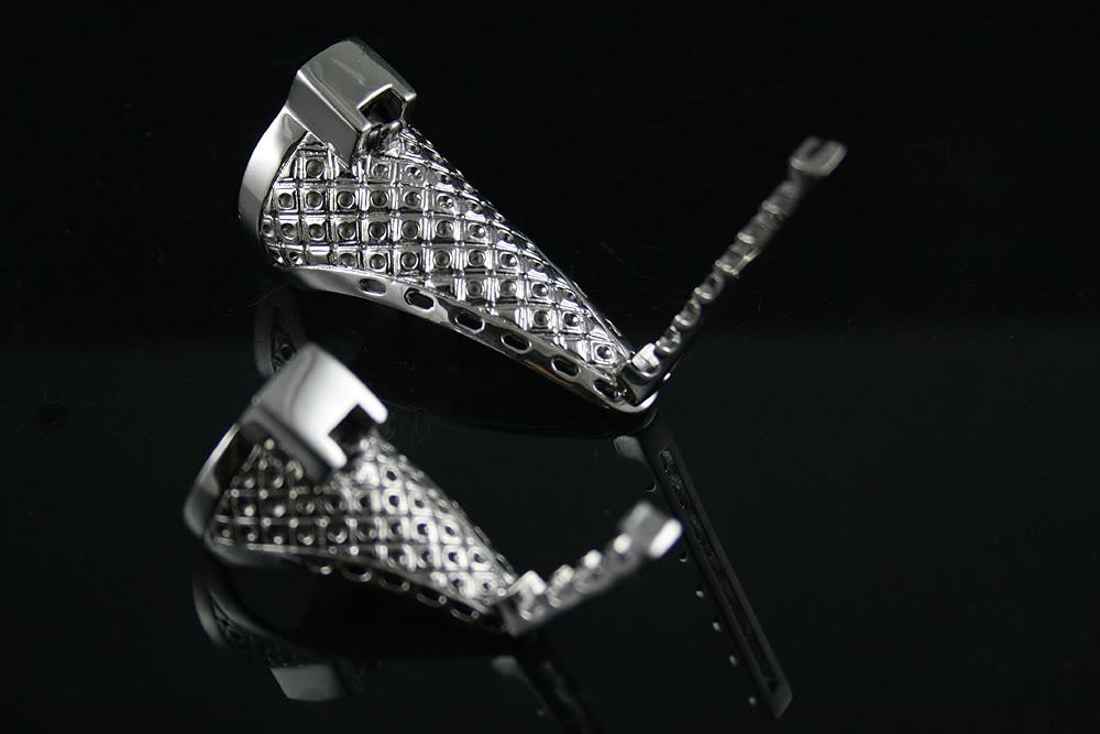 HI TEK knuckle armor pompom ring SSRNGS006 unusual