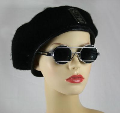 Hi Tek round silver metal sunglasses HT-4009