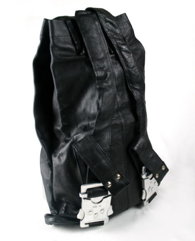 Hi Tek mens leather bag backpack rucksack unusual unique