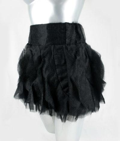 womens black dressy ballerina skirt