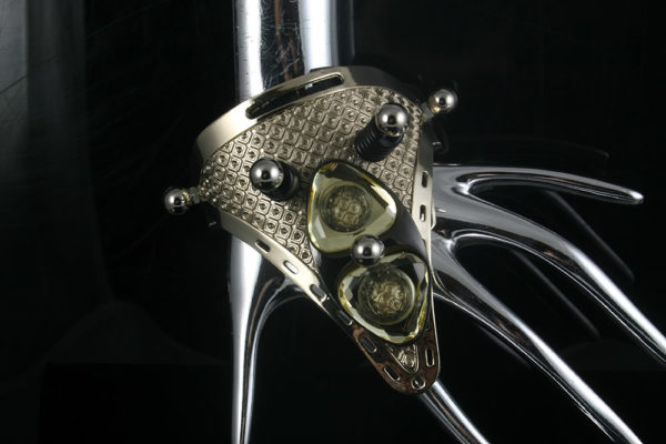 handmade Steampunk jewelry cuff bracelet  Hi Tek HTCUB006