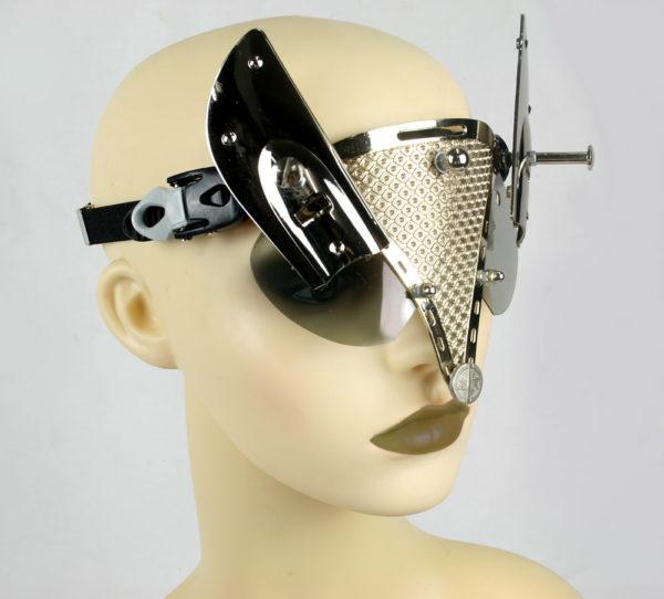 handmade futuristic modern steampunk eye wear Hi Tek