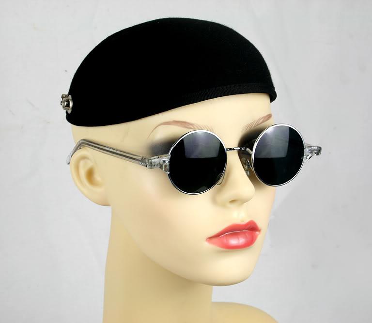Hi Tek vintage round sunglasses HT-RET-N465