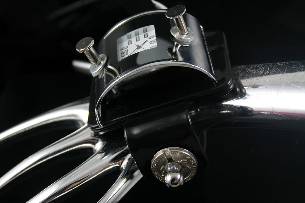 Handmade Steampunk retro futuristic cuff watch Hi Tek HTSTW044