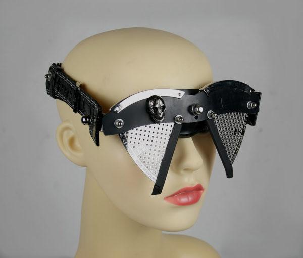 handmade futuristic modern stemapunk eye wear Hi Tek