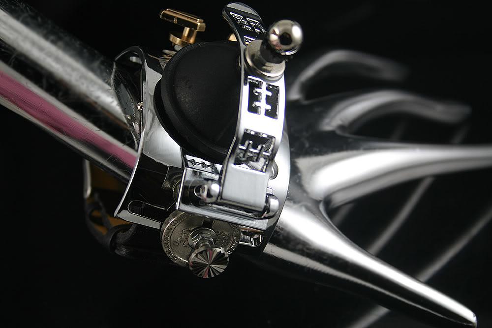 Handmade Steampunk retro futuristic cuff watch Hi Tek HTSTW047