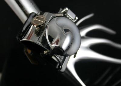 Handmade retro futuristic Steampunk watch cuff Hi Tek HTSTW058