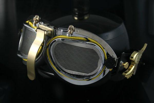 Hi Tek Steampunk goggles motorcycle aviator