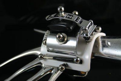 Handmade retro futuristic Steampunk watch cuff Hi Tek HTSW066