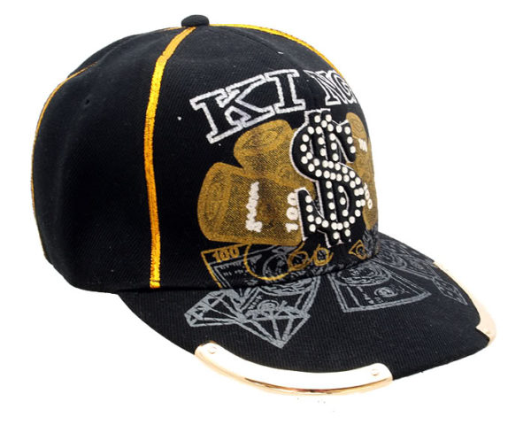 embroydered cotton baseball cap HI TEK