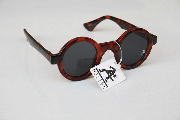 Hi Tek tortoiseshell round sunglasses HT-005